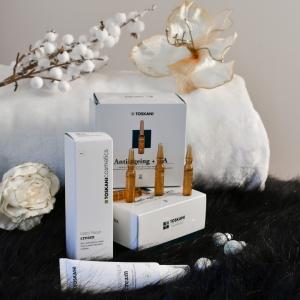 Ampolle Antiaging+HA e Matrix Repair Cream TOSKANI